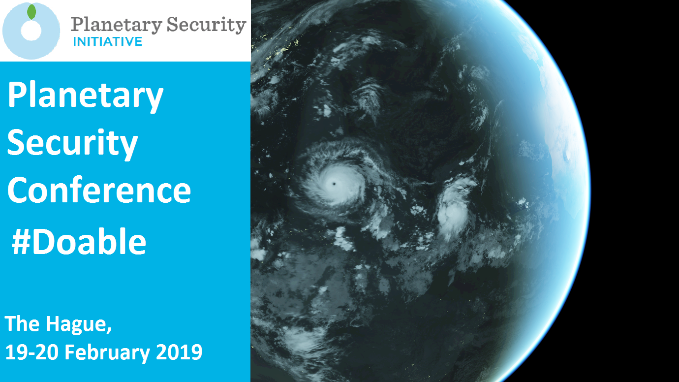 Planetary Security Conference 2019 #Doable