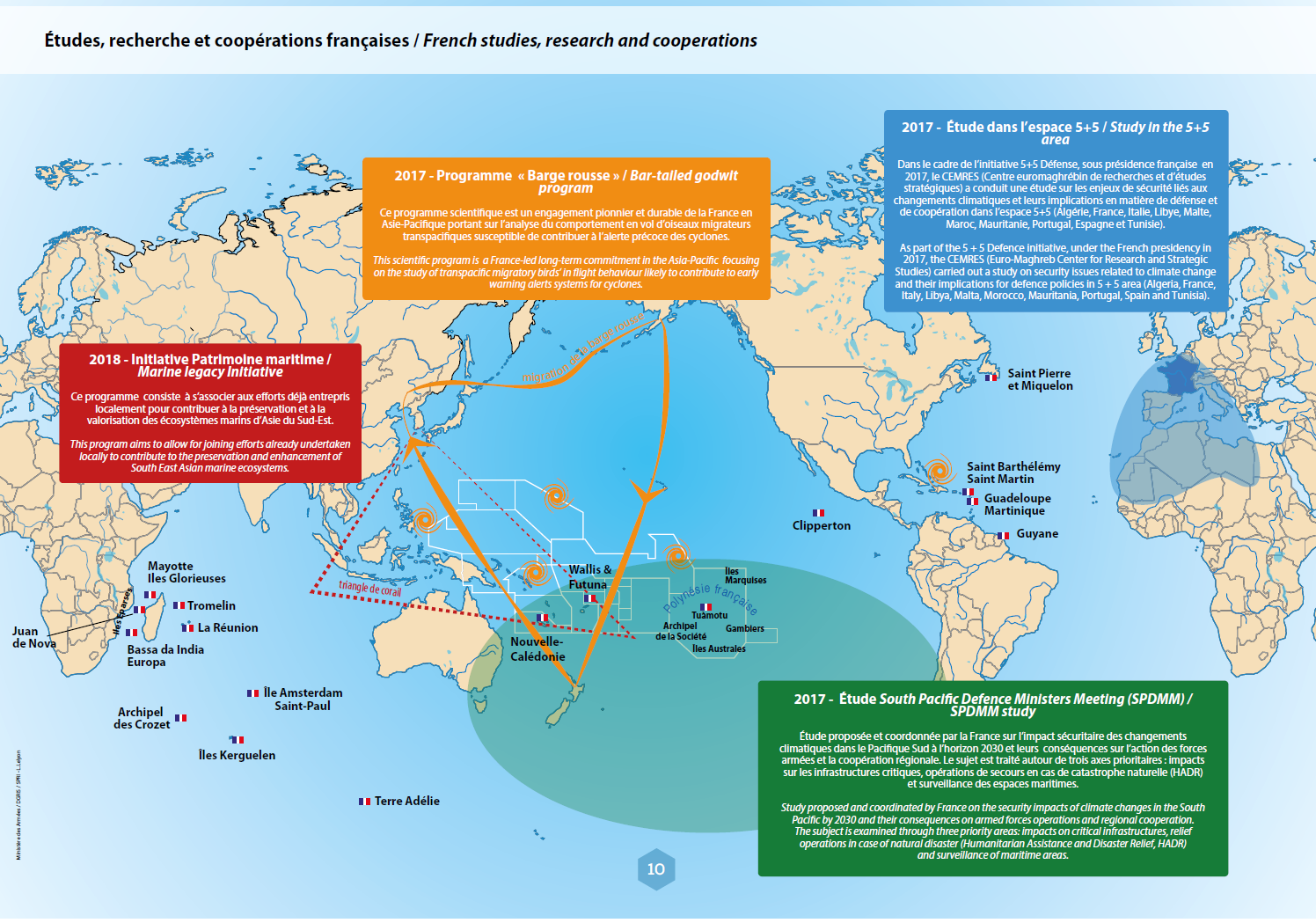 Map Of France With Key.France Includes Climate Change As Key Feature Of Its Defence