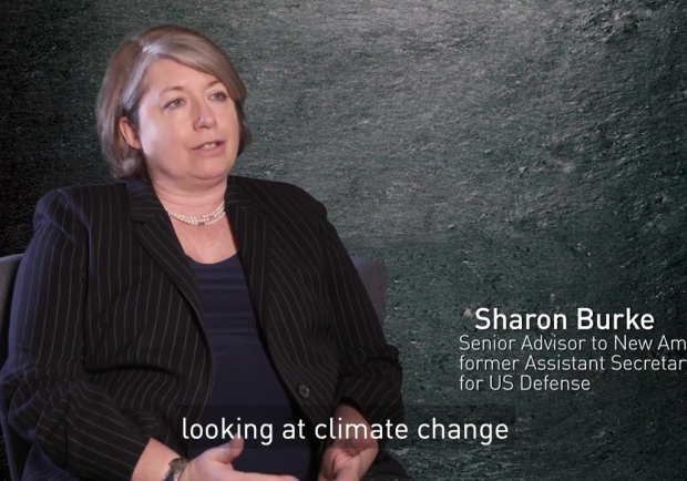 US Defense & climate security an Interview with Sharon Burke