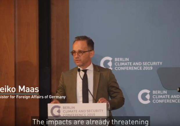 Berlin Climate and Security Conference 2019