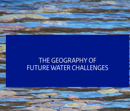 The geography of future water challenges