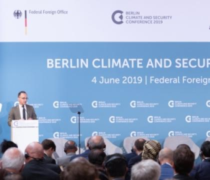 Germany calls for Action in Climate Security