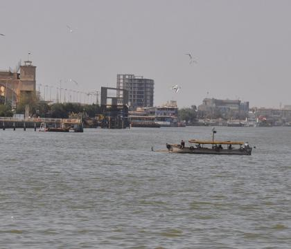 Follow-up story on saltwater intrusion with the Southern Region Environment Directorate in Iraq