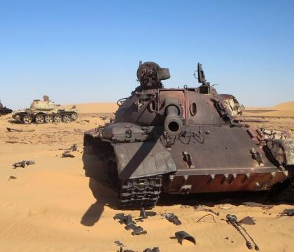 Climate change threatens basic state functionality in Libya