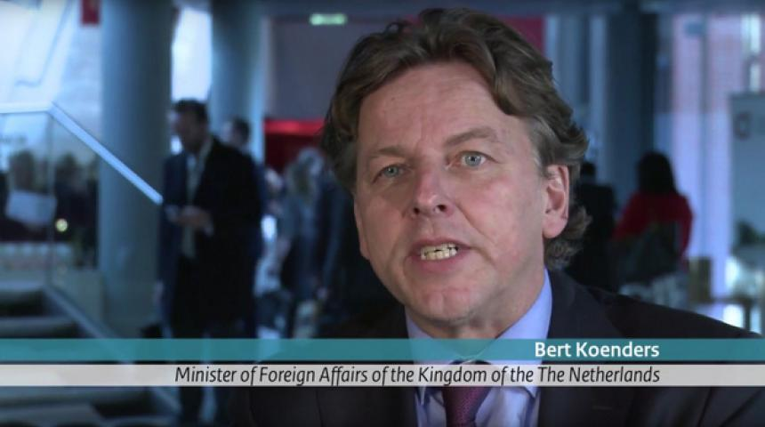 Interview with Foreign Affairs Minister Bert Koenders