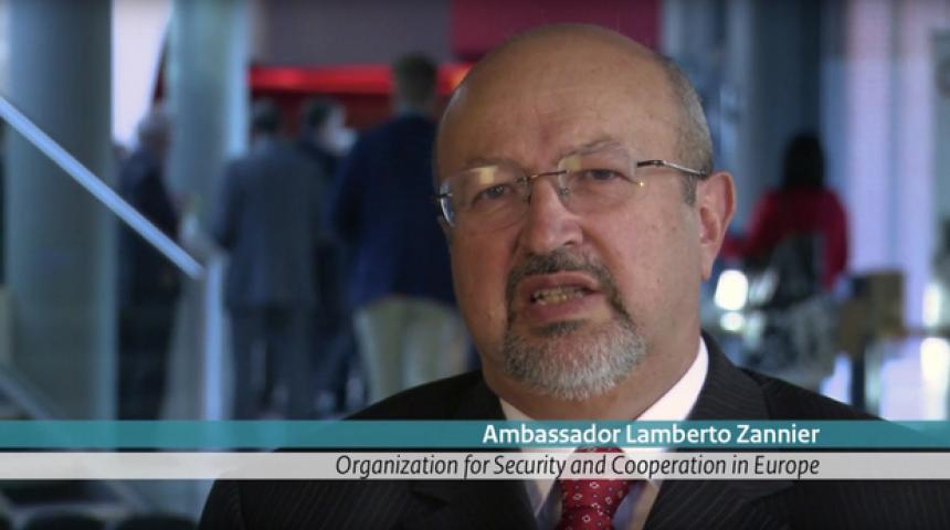 Interview with H.E Mr. Lamberto Zannier
