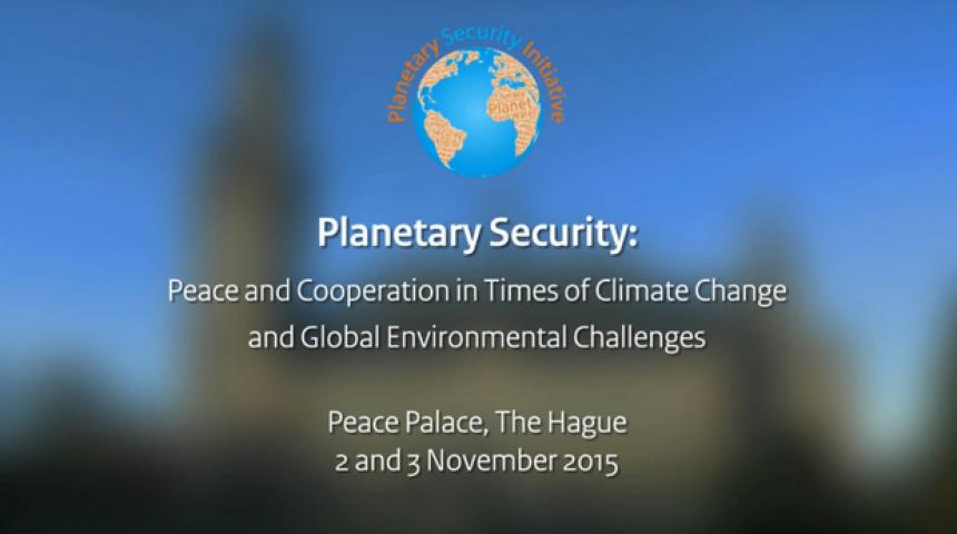 Planetary Security Conference 2015 - Overview