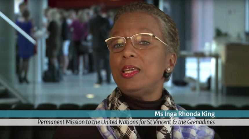 H.E. Ms. Inga Rhonda King