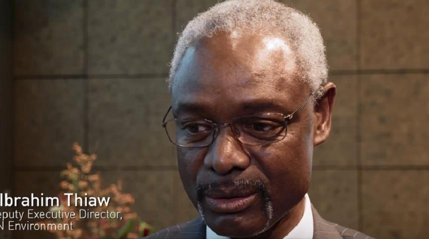 Interview: Ibrahim Thiaw, UNEP Deputy Executive Director
