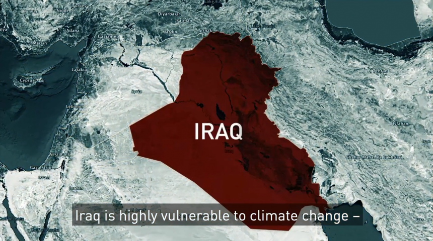 Terrorist recruiting, water conflicts and climate change in Iraq