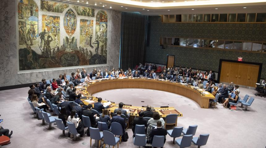 Prime Minister of Curaçao speaks on Climate-Related Security Risks at the UNSC