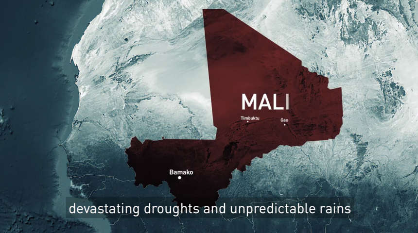 Mali's climate security trap - how drought and heavy rains impact violence and migration